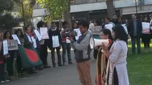 Nari Diganta's publicity Secretary Nilufa Hasan condemns organised violence against women.